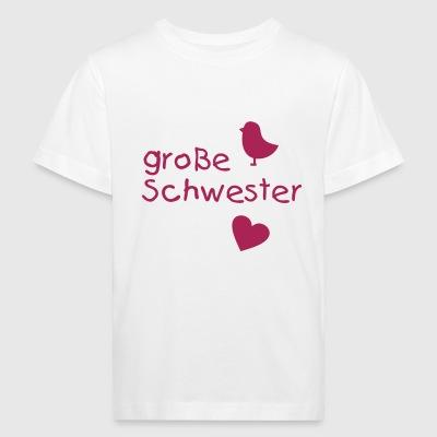 gro e schwester t shirts online bestellen spreadshirt. Black Bedroom Furniture Sets. Home Design Ideas
