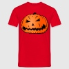 Halloween pumpkin head  T-Shirts - Men's T-Shirt