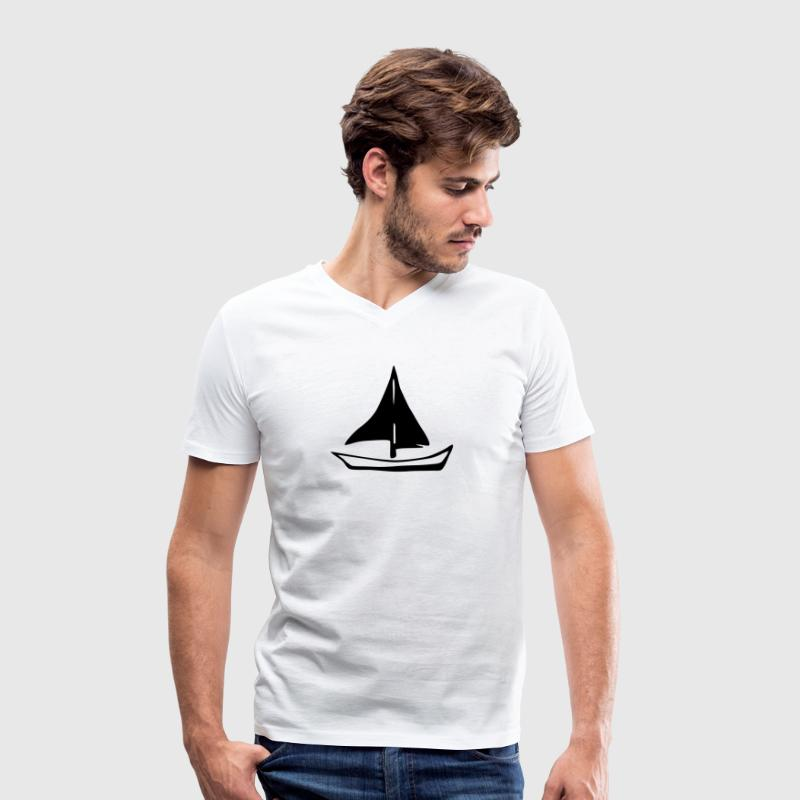 Voile - Voilier - sailboat Tee shirts - T-shirt bio col en V Stanley & Stella Homme