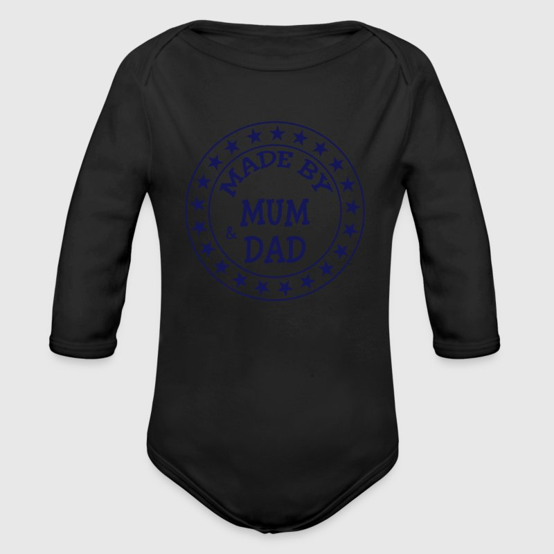 Made by Mum and Dad Pullover & Hoodies - Baby Bio-Langarm-Body