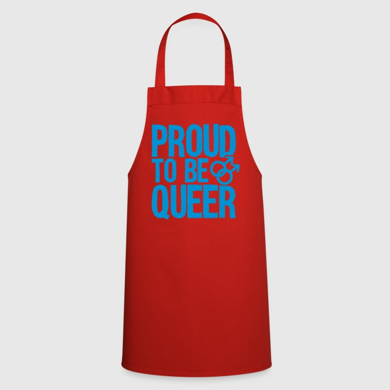 Proud to be queer - gay  Aprons - Cooking Apron