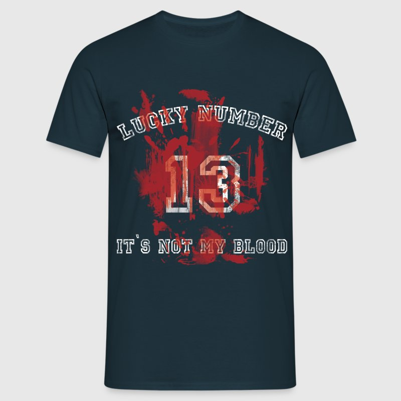 lucky number 13 T-Shirts - Men's T-Shirt