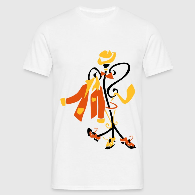 Elegant tango clothes for men T-Shirts - Männer T-Shirt
