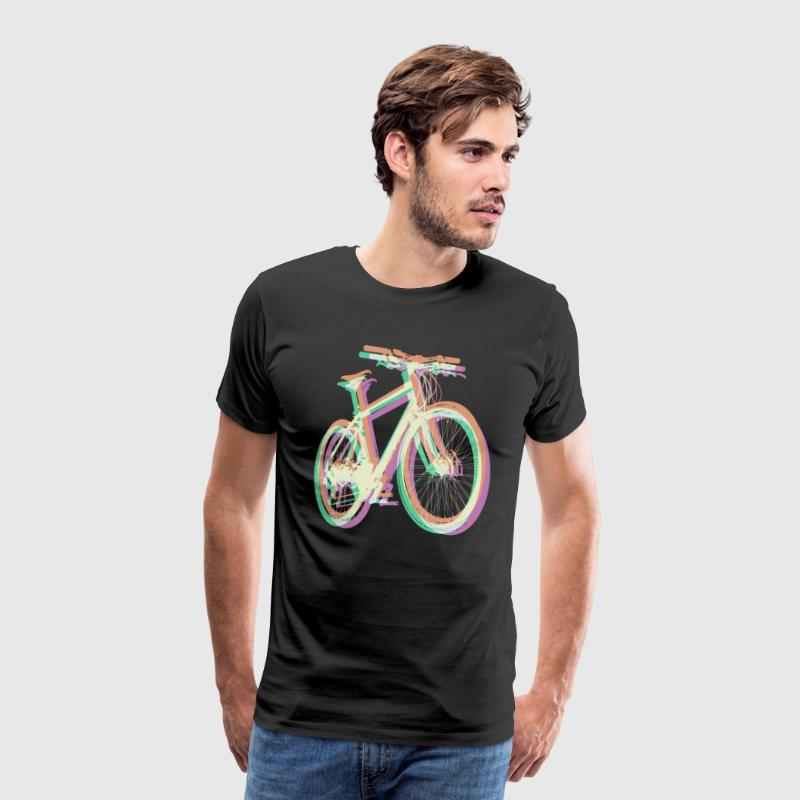 Bike Fahrrad bicycle Outdoor Fun Mountainbike T-Shirts - Männer Premium T-Shirt