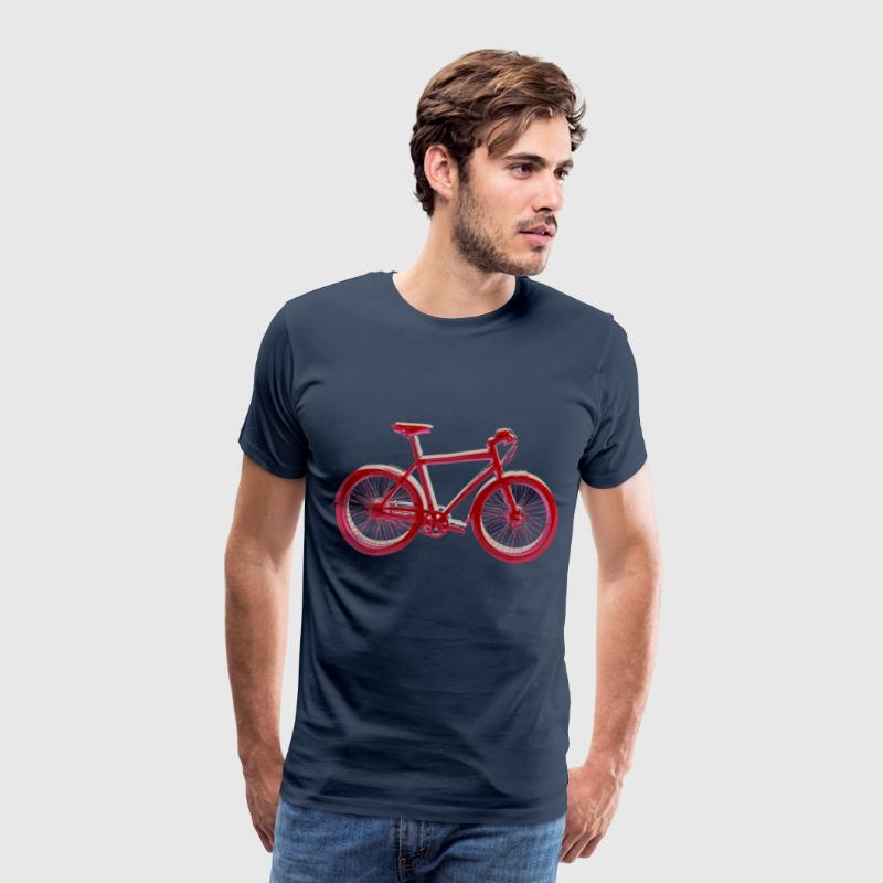 Bike Fahrrad bicycle Outdoor Fun Retro Style T-Shirts - Männer Premium T-Shirt