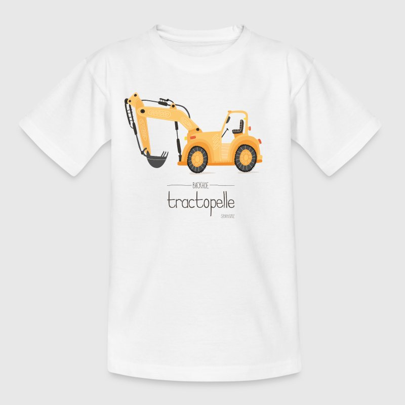 Tractopelle by SEVEUSMZ - T-shirt Enfant
