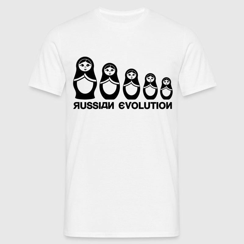 Russe Matriochka Evolution  Tee shirts - T-shirt Homme