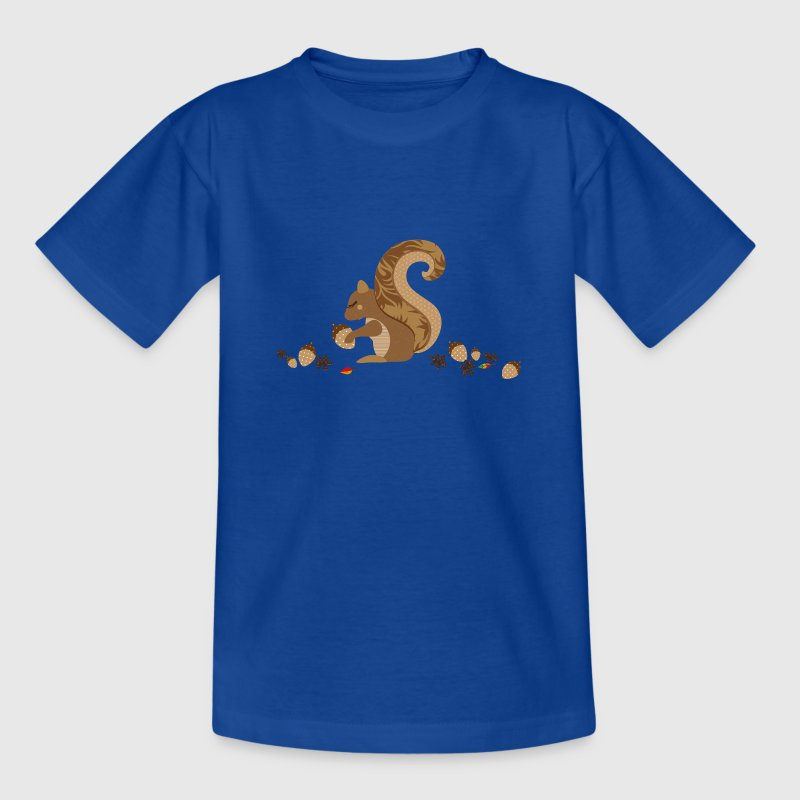 A squirrel with an acorn Shirts - Kids' T-Shirt