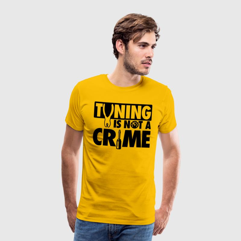 Tuning is not a crime Camisetas - Camiseta premium hombre