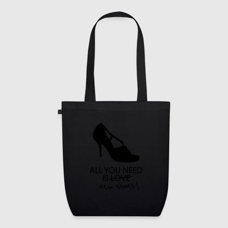 All You Need Is Love (New Shoes) - Sac en tissu biologique