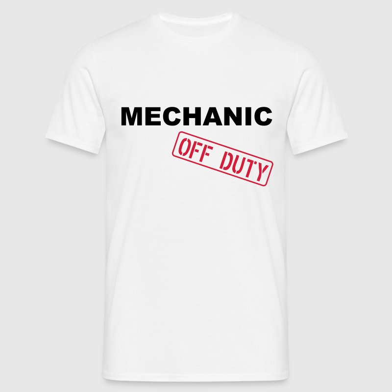 Mechanic Off Duty T-Shirts - Men's T-Shirt