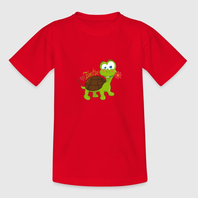 t shirt enfant tortue - T-shirt Enfant