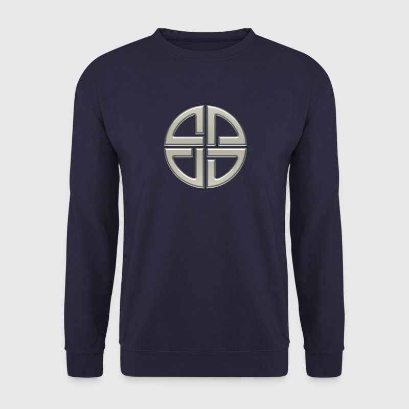 Cub Metatron, solides platoniques Géométrie Sacrée Sweat-shirts - Sweat-shirt Homme