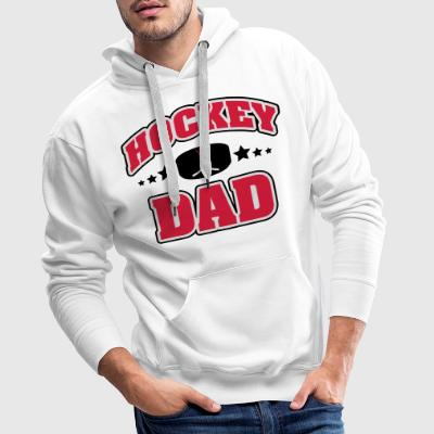 Hockey Dad T-skjorter - Premium hettegenser for menn