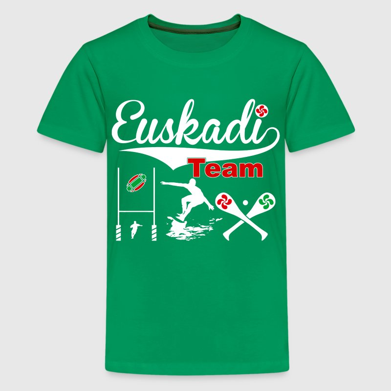 euskadi sports team 05 Shirts - Teenage Premium T-Shirt