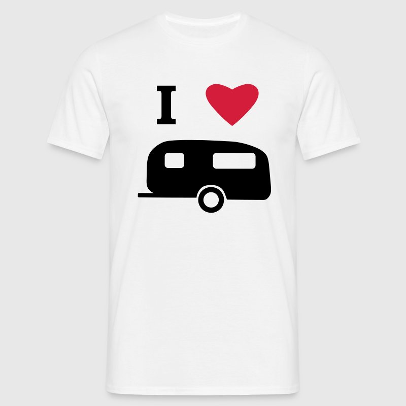 I Love My Caravan T-Shirts - Men's T-Shirt