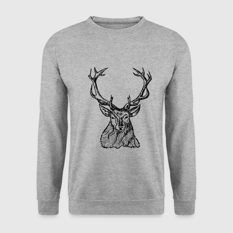 cerf renne Sweat-shirts - Sweat-shirt Homme