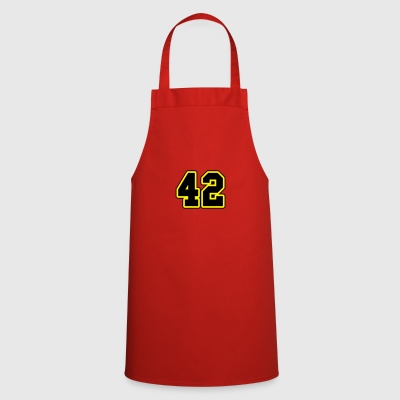 42 college typography Bags & Backpacks - Cooking Apron