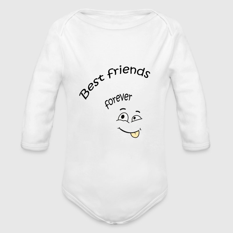 Best friends forever Pullover & Hoodies - Baby Bio-Langarm-Body