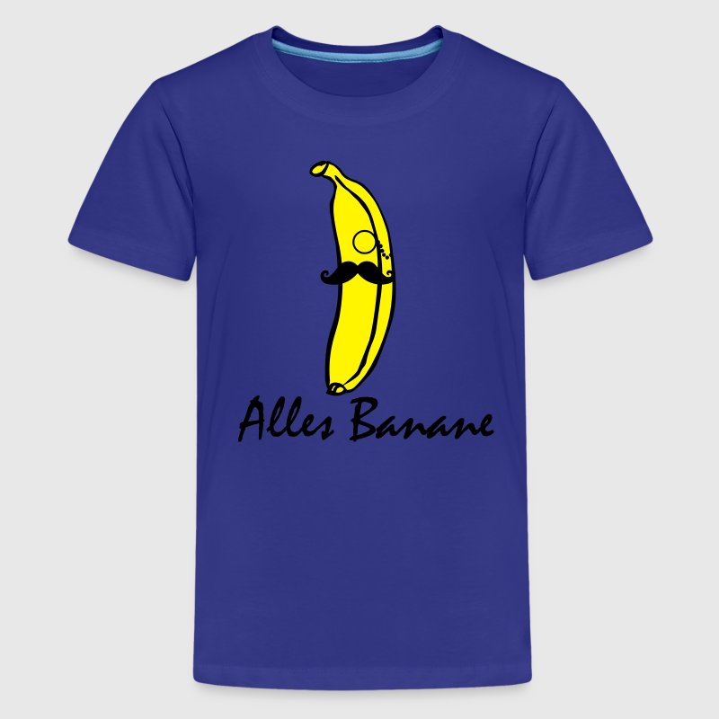 Alles Banane swag banana T-Shirts - Teenager Premium T-Shirt