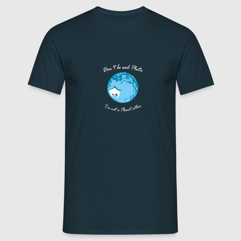 Sad Pluto T-Shirts - Men's T-Shirt
