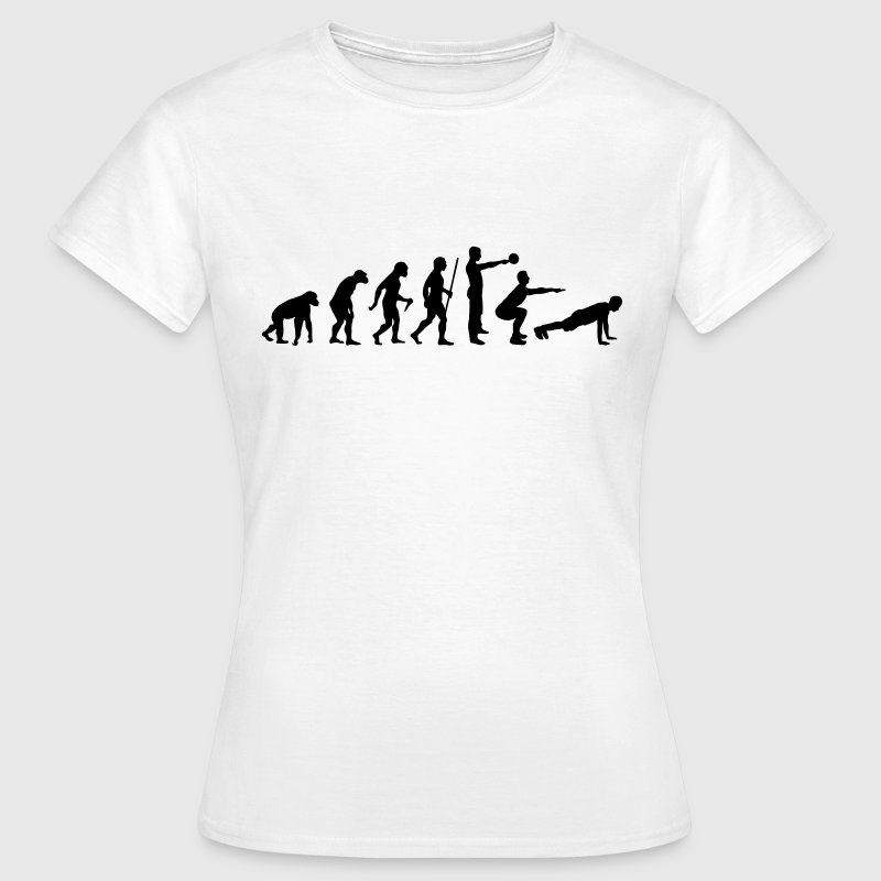 Evolution - Crossfit T-Shirts - Women's T-Shirt