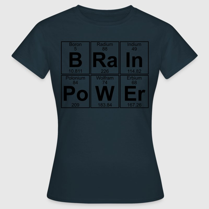 B-Ra-In-Po-W-Er (brainpower) - Full T-Shirts - Frauen T-Shirt