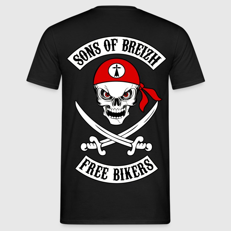 sons of breizh bikers 7 Tee shirts - T-shirt Homme
