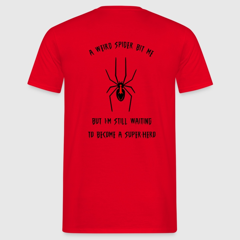 Weird spider T-Shirts - Men's T-Shirt