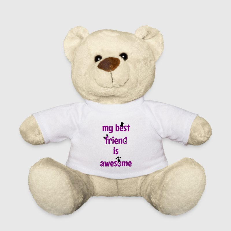 My best friend is awesome Teddies - Teddy Bear