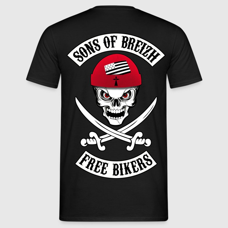 sons of breizh bikers 8 Tee shirts - T-shirt Homme