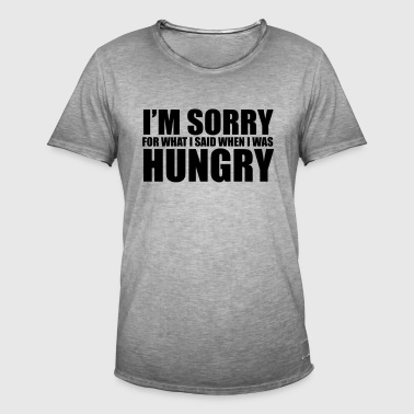 Hungry T-Shirts - Men's Vintage T-Shirt