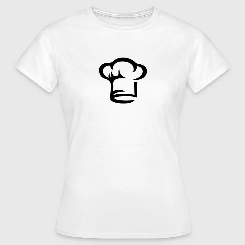 Chef hat, cook, hotel kitchen, cooking, restaurant Camisetas - Camiseta mujer
