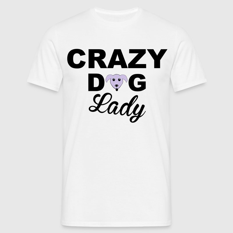 Dog Lady T-shirts - T-shirt herr