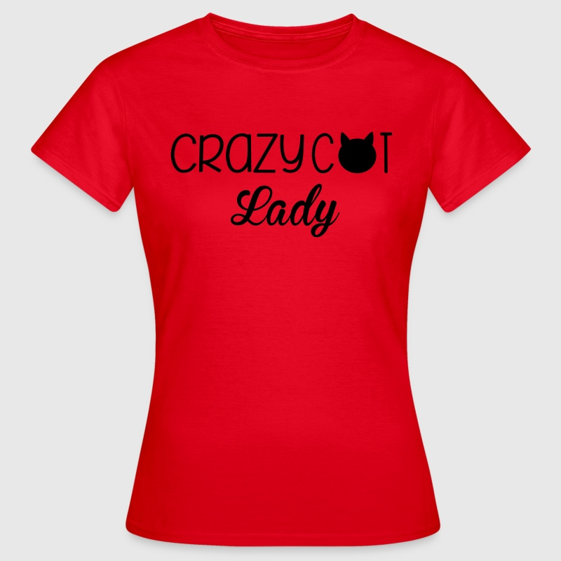Cat Lady T-shirts - Vrouwen T-shirt