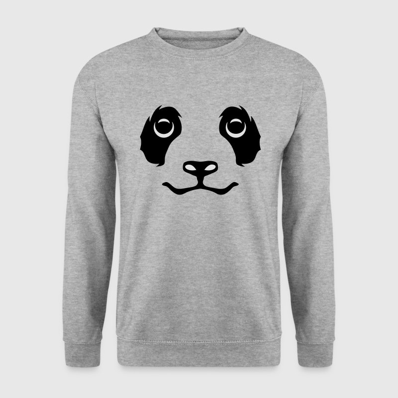 smiley panda 28 Sweat-shirts - Sweat-shirt Homme