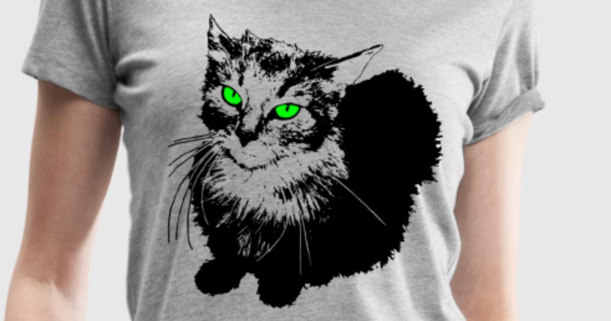katze t shirt spreadshirt. Black Bedroom Furniture Sets. Home Design Ideas