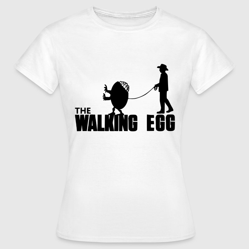 The Walking Egg Tee shirts - T-shirt Femme