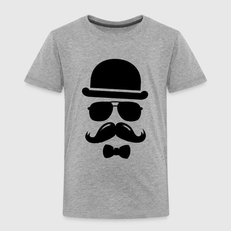 Cool  swag hipster moustache boss man father Tee shirts - T-shirt Premium Enfant
