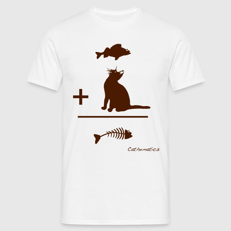 Cathematics (vertical) T-Shirts - Men's T-Shirt