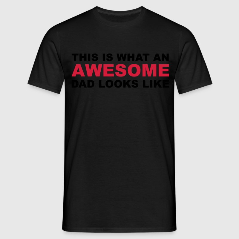 Awesome Dad T-skjorter - T-skjorte for menn