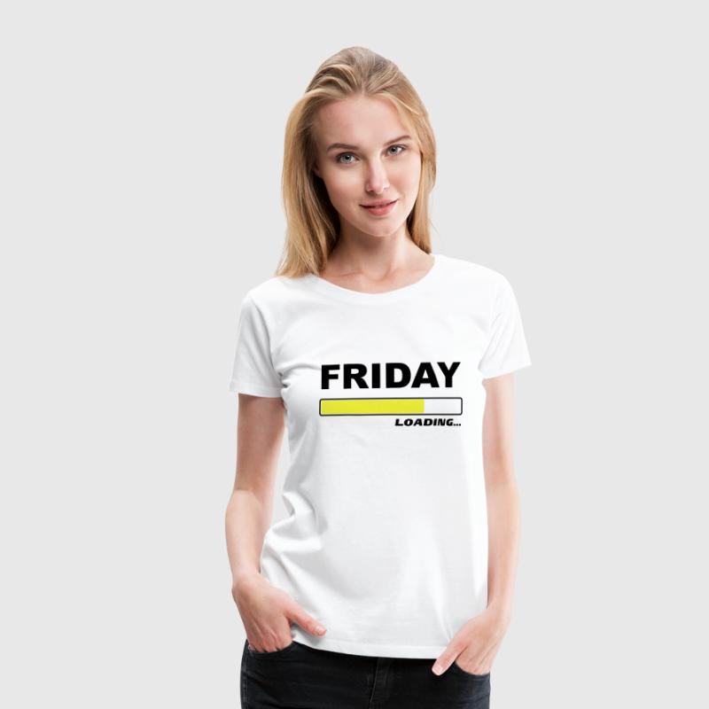 Friday loading… 2c T-Shirts - Frauen Premium T-Shirt