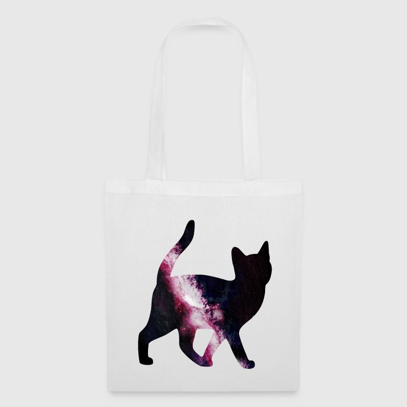 space cat Bags & backpacks - Tote Bag