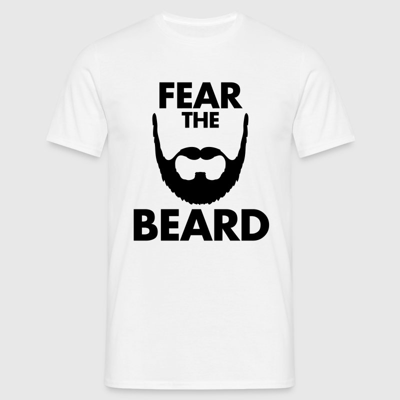 Fear The Beard T-shirts - Mannen T-shirt