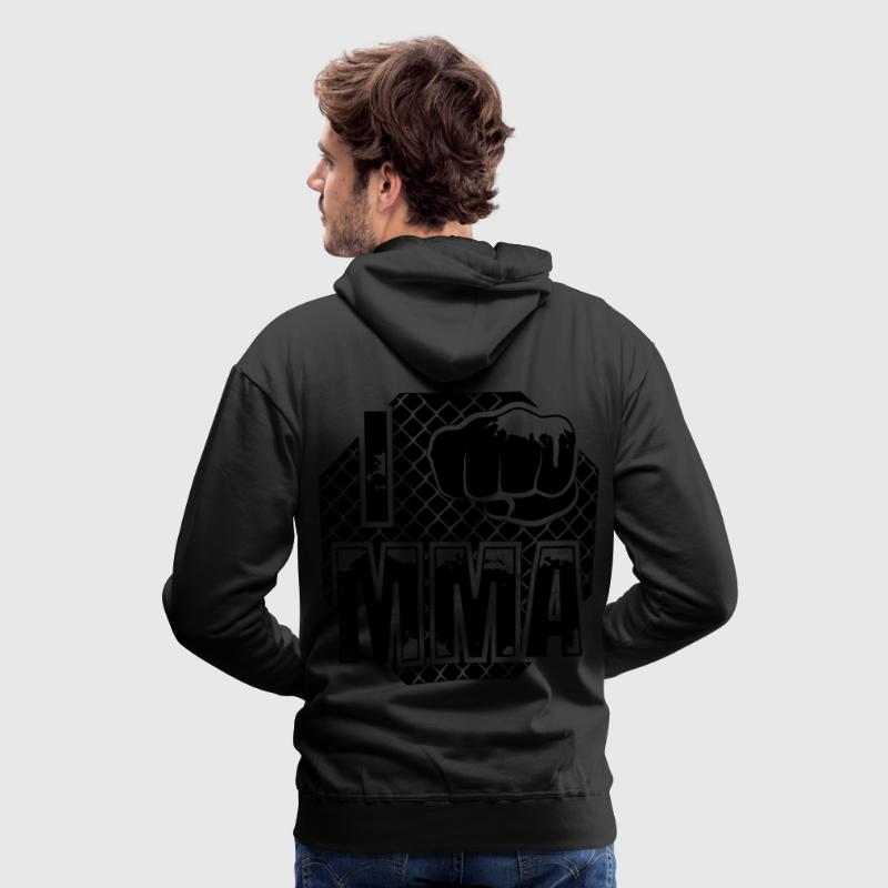 I fight MMA Sweaters - Mannen Premium hoodie
