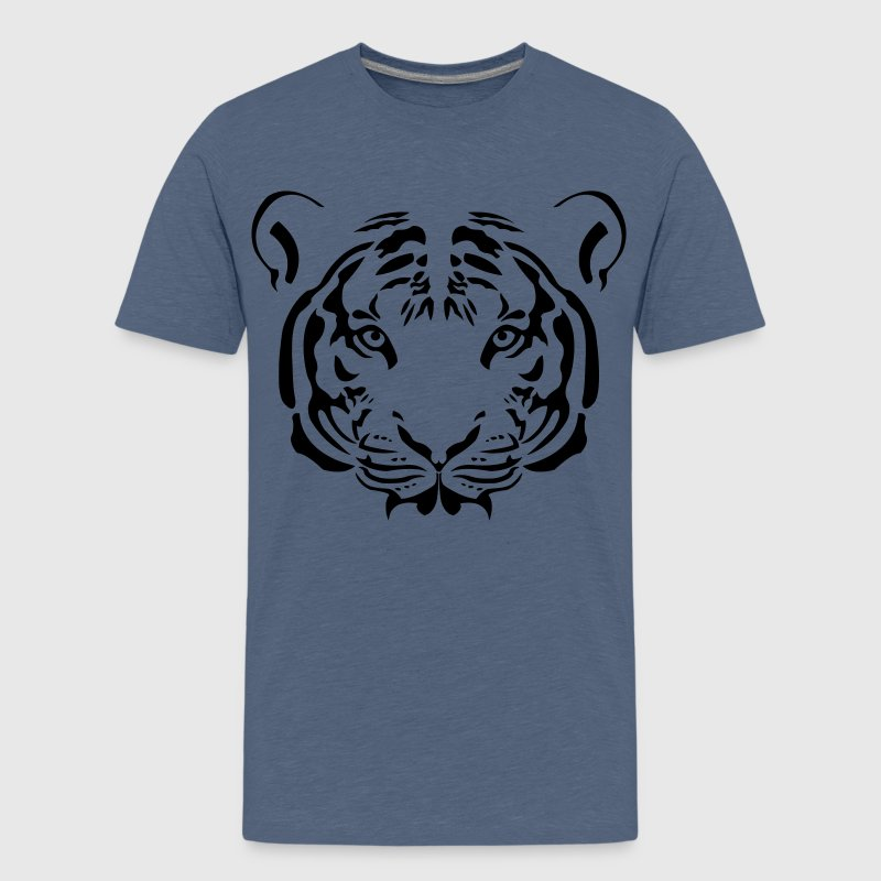 Tiger Tribal Shirts - Teenage Premium T-Shirt