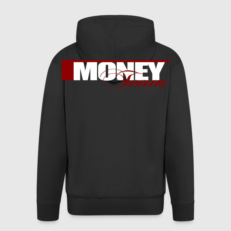 Money Team Pullover & Hoodies - Männer Premium Kapuzenjacke
