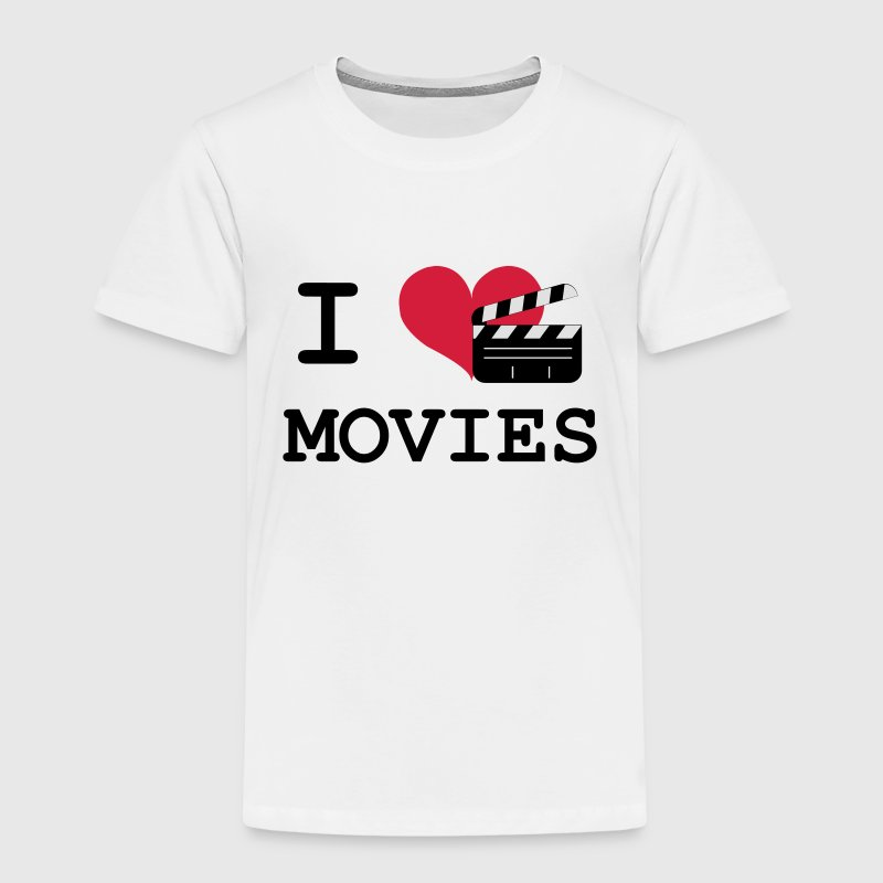 I Love Movies Shirts - Kids' Premium T-Shirt