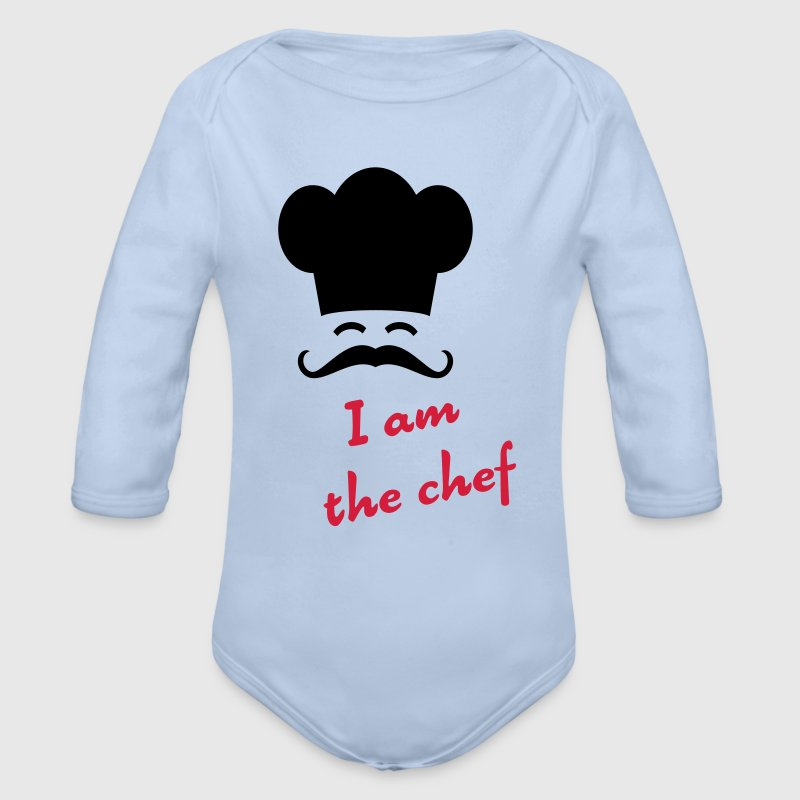 I am the chef Hoodies - Organic Longsleeve Baby Bodysuit