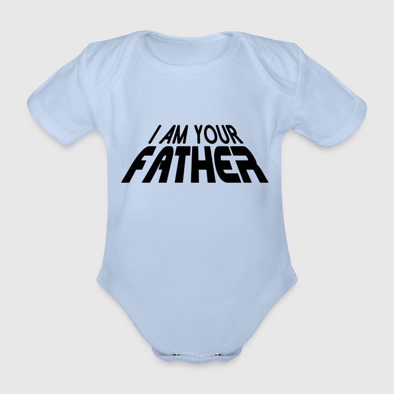 I am your FATHER 3D (1c) Shirts - Baby bio-rompertje met korte mouwen